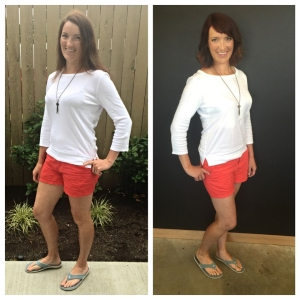 Meghan Zonich Makeover before and after